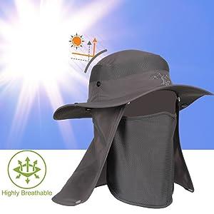 f2652b03a72 VIFINE Sun Cap Fishing Hat For Men Women