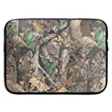 CRSJBB219 Realtree Camo Wallpapers Laptop Sleeve Bag 13 15 Inch Notebook Computer PC Neoprene Protection Case Cover Pouch Carrier Holder (Color: Black, Tamaño: 13 Inch)