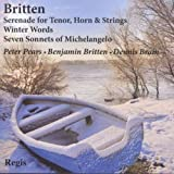 Britten Song Cyclesby Peter Pears
