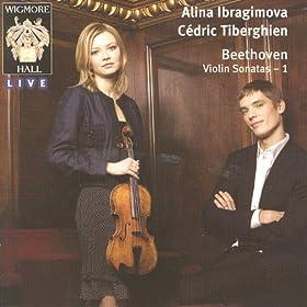 Beethoven Violin Sonatas 1: Alina Ibragimova & C�dric Tiberghien - Wigmore Hall Live