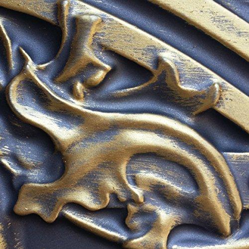 PL10en finition or antique plafond Panneaux muraux décoration carrelage 3D Relief Café Pub Shop Art 10pieces/Lot