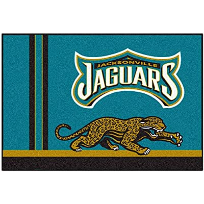 Fanmats Jacksonville Jaguars Uniform Inspired Starter Rug