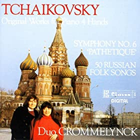 Tchaikovsky/ Original Works For Piano 4 hands