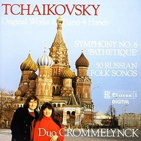 Tchaikovsky/ Original Works For Piano 4 hands