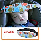2 Pack Baby Head Support for Car Seat-Car Seat Head Support for Toddler-Car Pillow-Child Car Seat Head Support-Safety Car Seat Neck Relief-Offers Protection and Safety for Kids-Baby Shower Gift (Color: 2 PCS; Blue)