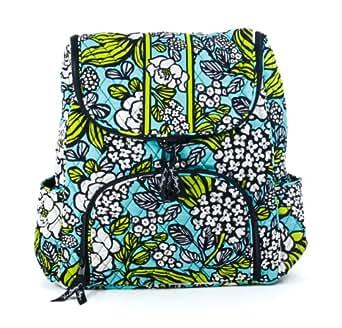 Vera Bradley Double Zip Backpack (Island Blooms)