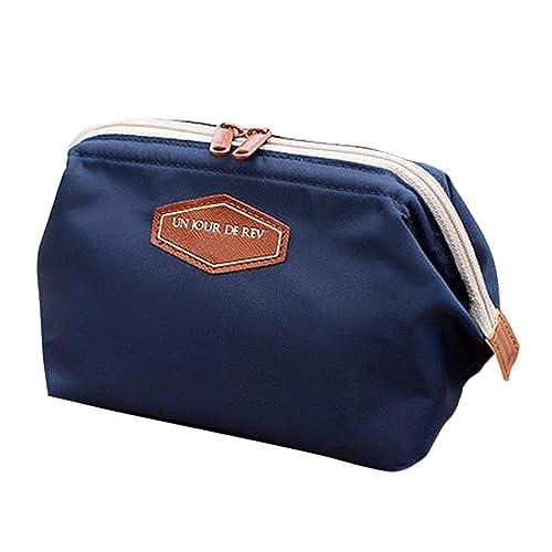 Zeagoo-Women-s-Travel-Makeup-bag-Cosmetic-Pouch-Clutch-Handbag-Casual-Purse