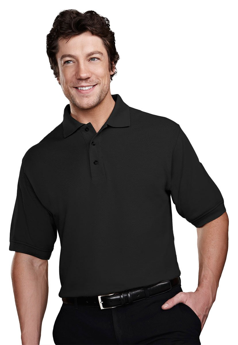 Pique Tri Mountain Mens Golf Shirt