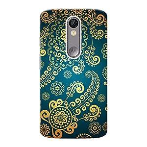 Mobile Back Cover For Motorola Moto X Force (Printed Designer Case)