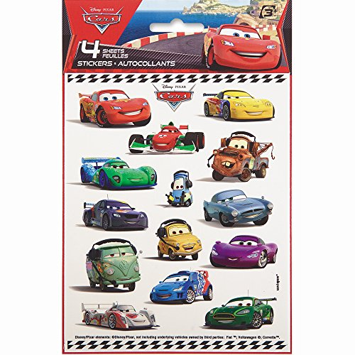 Disney Cars Sticker Sheets, 4ct - 1