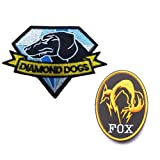 GrayCell Military Morale Diamond Dogs and Metal Gear Solid Fox Patch (A) (Color: A)