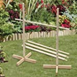 Wooden Limbo Outdoor Garden Game