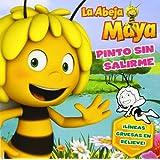 Maya. Pinto sin salirme: ¡Líneas gruesas en relieve! (La Abeja Maya 3d)