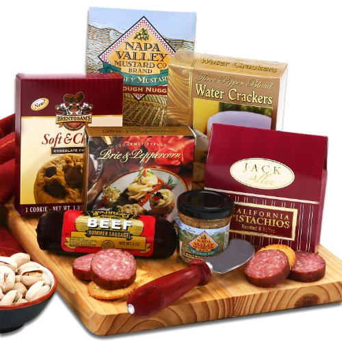 A Finer Cut Sausage Cheese and More Gift Set