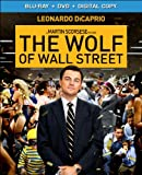The Wolf of Wall Street [Blu-ray + DVD + Digital Copy]