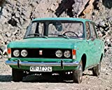 1974 Fiat Polski 125P Automobile Photo Poster