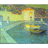 Art Panel - House By The Sea By Sidaner