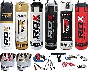 Authentique RDX 9P Set de boxe 4ft/5ft Rempli lourde série Professional sac de frappe, gants, support MMA Pad