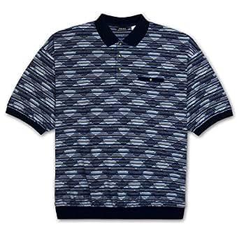 Ld sport big and tall mens jacquard knit for Mens banded bottom shirts big and tall
