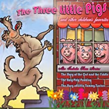 The Three Little Pigs and Other Children's Favorites (       ABRIDGED) by Joseph Jacobs, L. Frank Baum, Beatrix Potter Narrated by David DuChene, Shawn Ryskamp, Jenny Day, Bart Allen Burger