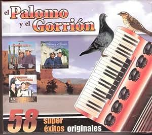 El Palomo Y El Gorrion [58 Super Exitos Originales] 3 Cd's