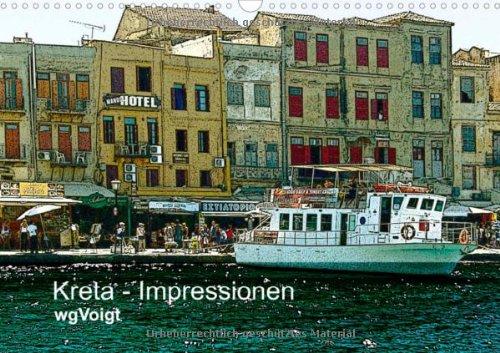 Kreta-Impressionen  (Wandkalender 2014 DIN A3 quer): Kreta bedeutet: Sommer für's ganze Jahr. Meine Foto-Grafiken zeigen es Ihnen.  Monatskalender, 14 Seiten