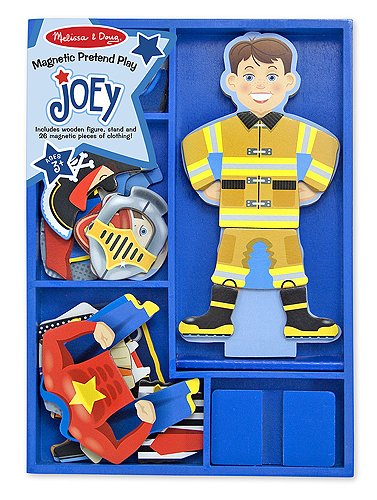 """""""JOEY THE FIREFIGHTER"""" MAGNETIC PUZZLE"""