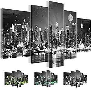bilder kunstdrucke prestigeart 6052527c bild auf leinwand new york city 170 x 100. Black Bedroom Furniture Sets. Home Design Ideas