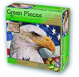 TDC Games Green Pieces Puzzle - Ameri-Cans