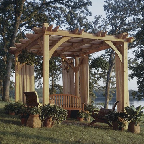 BuildtoSuit Pergola: Downloadable Woodworking Plan Picture