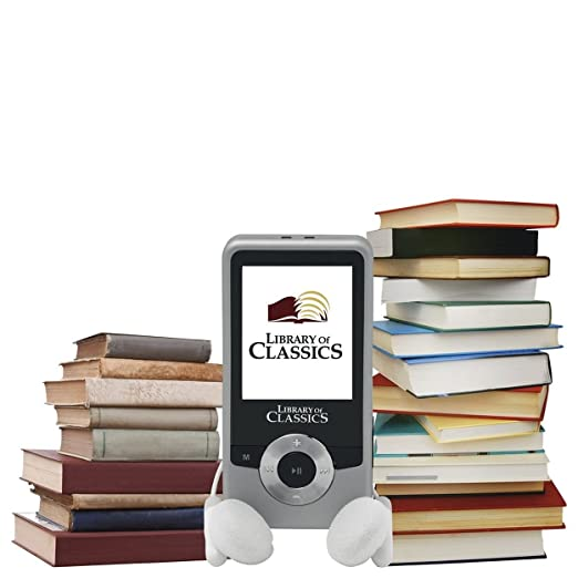 MP3 Player with Classic Books and Music
