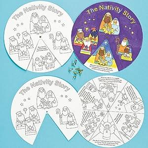 nativity story wheels   pack of 3 amazon co uk toys amp games