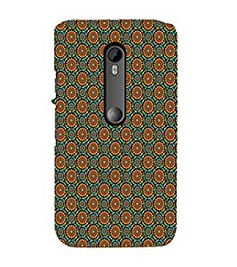 iFasho Animated Pattern design colorful flower in white background Back Case Cover for Moto X Style