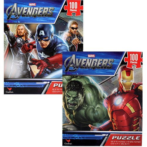 The Avengers 96 PCS Puzzles [2-Pack]