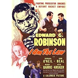 I Am the Law (1938)