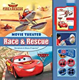 Disney Race & Rescue Movie Theater Storybook & Movie Theater Projector