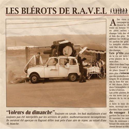 (French Chanson) Les Blerots de R.A.V.E.L - Voleurs du dimanche - 2008, FLAC (image+.cue), lossless