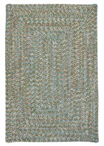 Indoor/Outdoor American Made Textured Rug 4-Feet by 6-Feet Seagrass Carpet