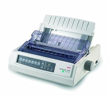 OKI Microline 3320eco - Imprimante - N&B - matricielle - 254 mm (largeur) - 240 ppp x 216 ppp - 9 pin - jusqu'à 435 car/sec - parallèle, USB