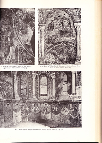 Romanesque Frescoes, Anthony, Edgar Waterman