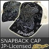 (エドハーディー) Ed Hardy EDHARDY 9349 エドハーディー キャップ 帽子 ラブキル ストーン 刺繍 黒 ブラック EDHARDY JAPAN LICENSED CAP EDCP002 BLACK ブラック