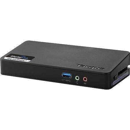 Targus ACP076EUZ Station d'accueil USB 3.0 1 sortie vidéo Noir