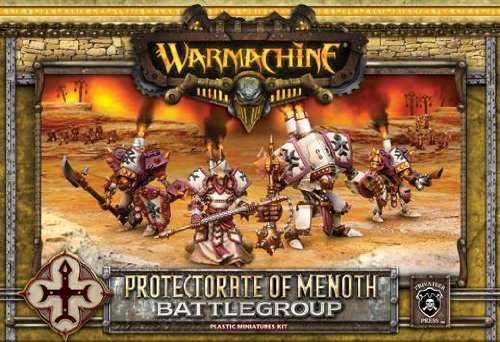 Battlegroup Box Set (Plastic) MKII Protectorate of Menoth Warmachine Miniature Game