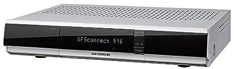 Kathrein UFSconnect 916 Lits HDTV récepteur satellite (CI, Linux, PVR-Ready, USB 3x, Réseau / UPnP, connexion LAN sans fil) argent