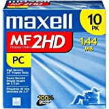 Maxell 3.5 HD 1.44MB Pre-Formatted MF2HD 10-Pack (Discontinued by Manufacturer)