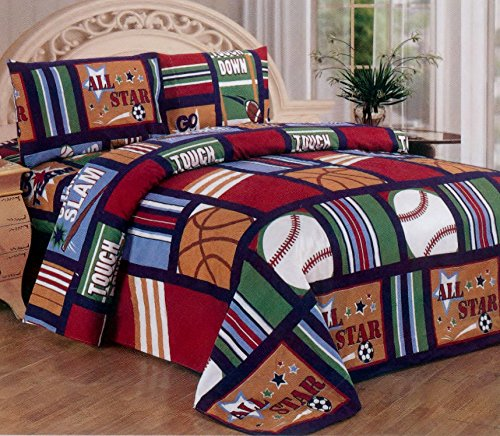 Kids Sports Bedding Tktb