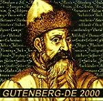 Gutenberg- DE 2000. CD- ROM