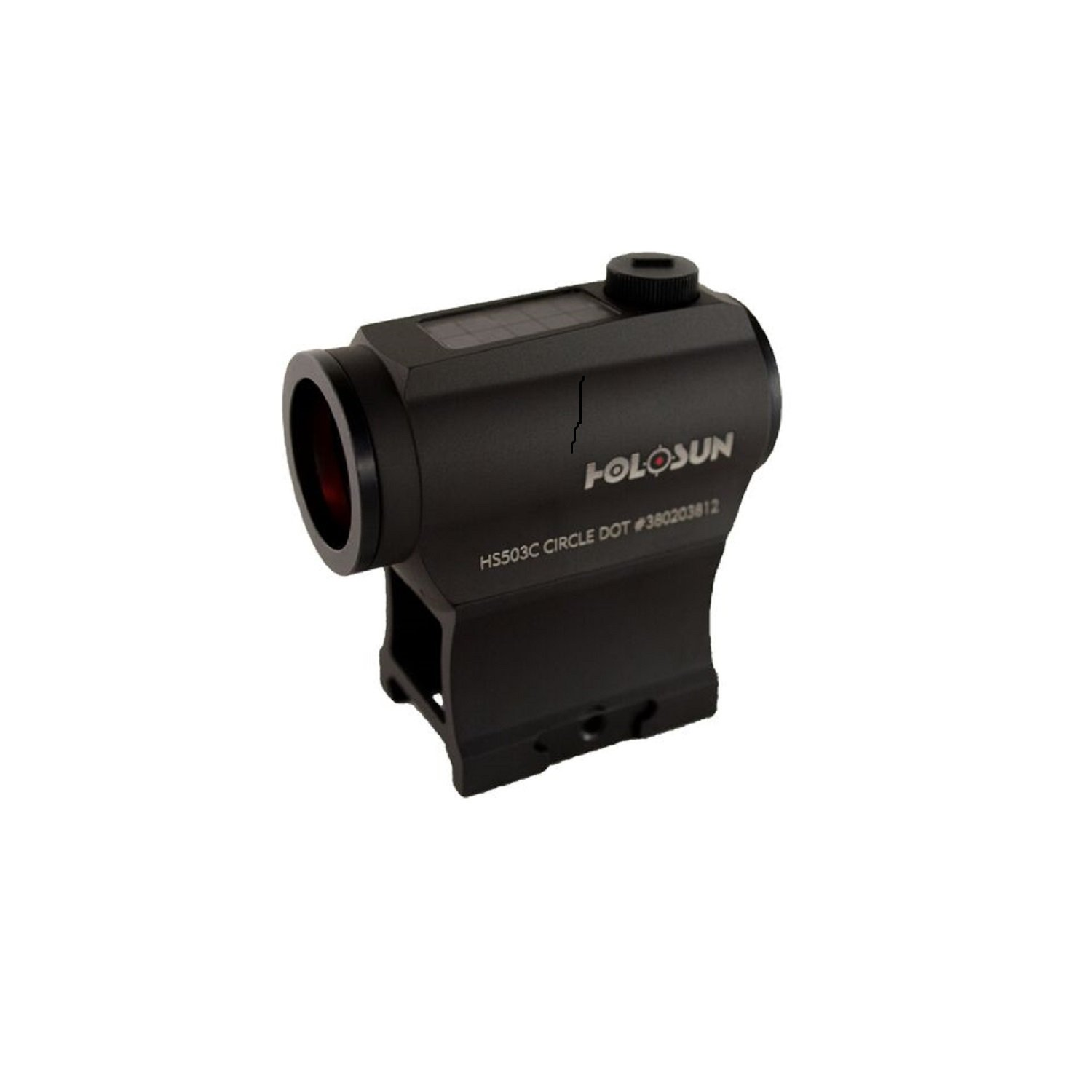 Holosun HS503C Paralow 133x54x72mm Circle Dot Sight
