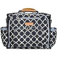 "Designer Diaper Bag By Bateman Bags - Convertible Stylish Urban European Baby Changing Backpack (17""x8""x11"") +..."