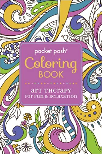 Coloring Therapy For Adults Online : Buy pocket posh adult coloring book: art therapy for fun